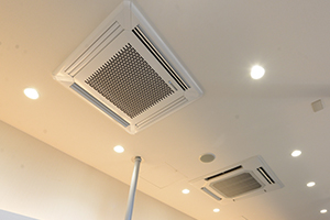 三重県桑名市江場 TNデンタルクリニック 設備紹介 空気清浄装置エアロシステム