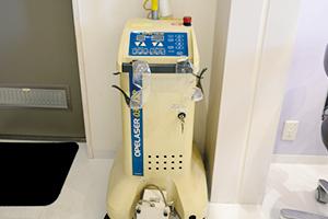 三重県桑名市江場 TNデンタルクリニック 設備紹介 レーザー治療機
